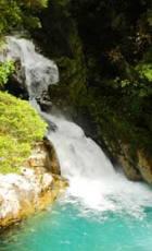 New Zealand Glacial melt stream
