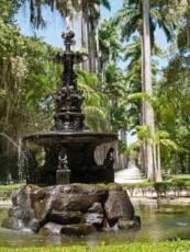 Rio, Brazil - Botanic Garden Fountain