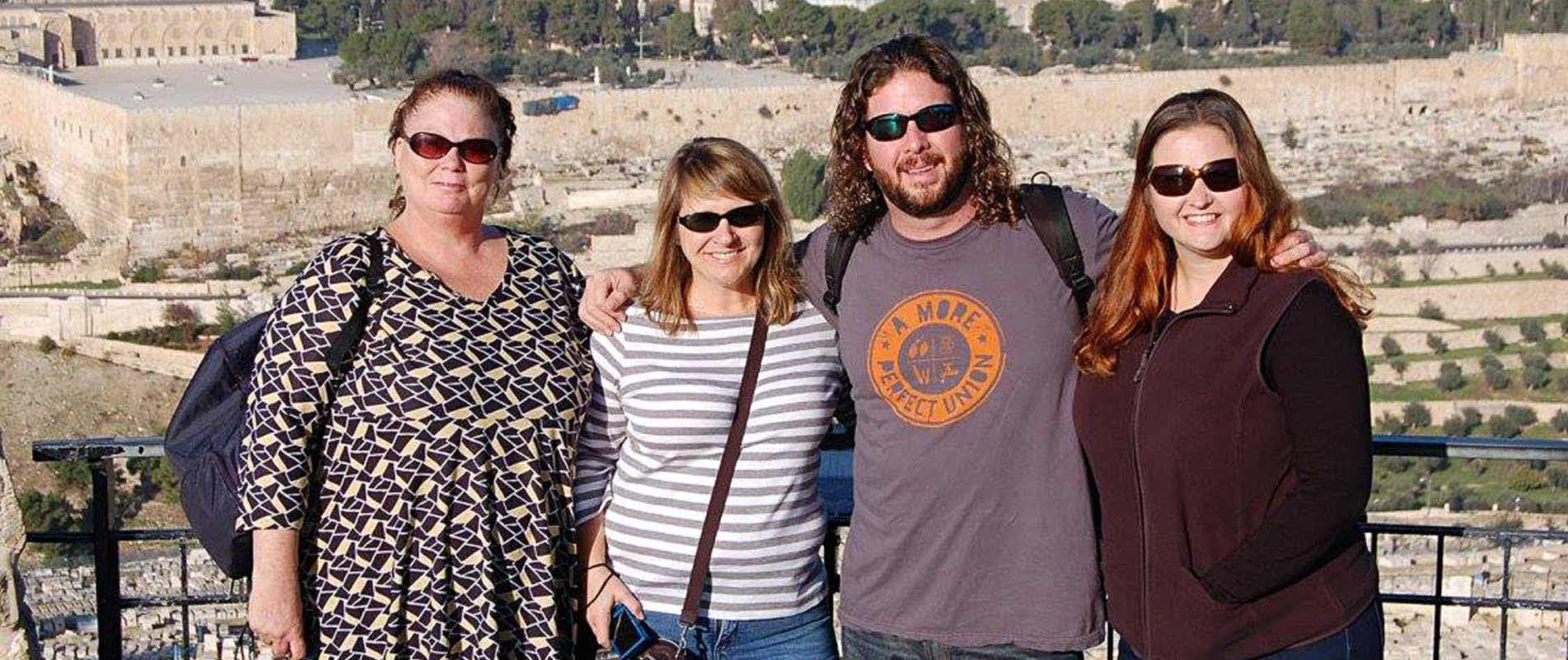 Fellowship Travel employees - Jerusalem