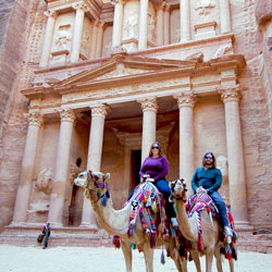 Fellowship Travel- Jeremy and Stephanie at Petra