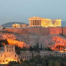 Athens Acropolis in Greece