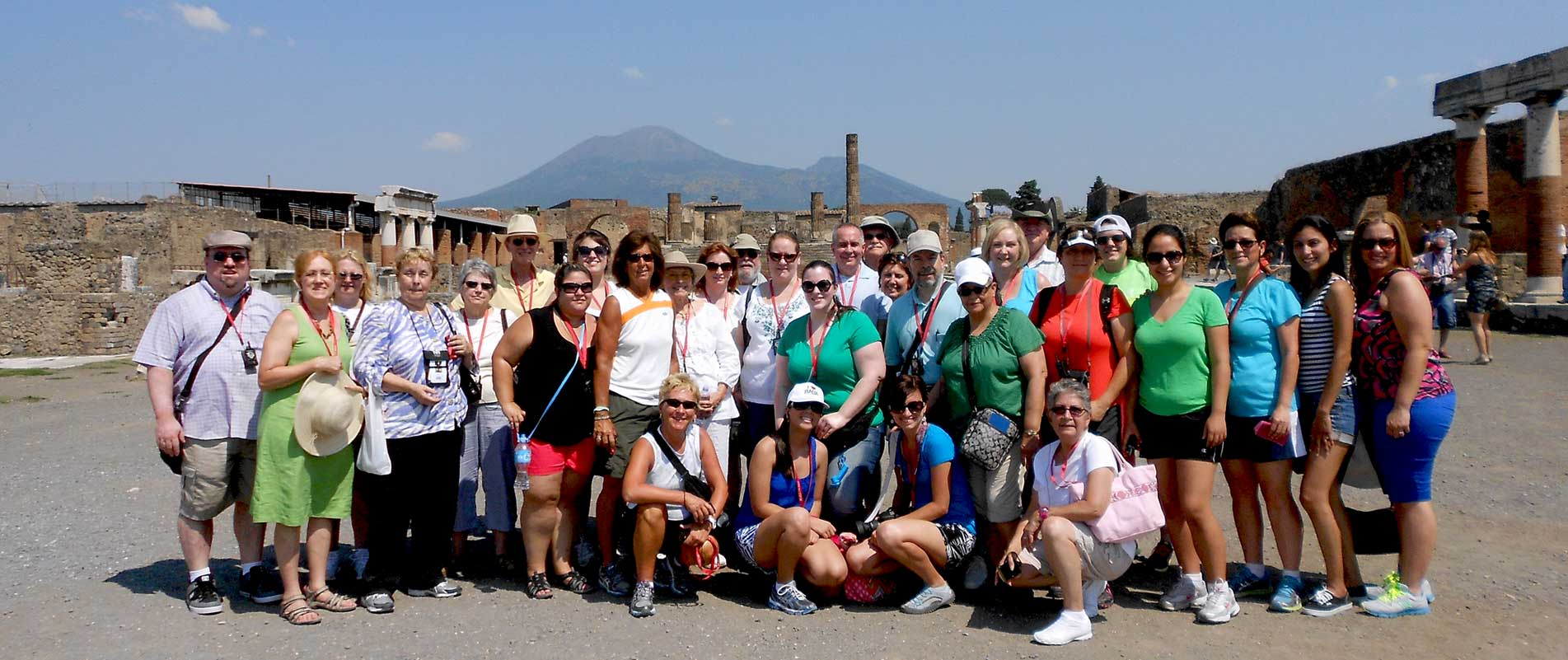 Italy Pompeii Group