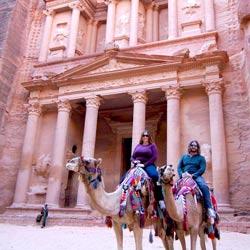 Jordan - Petra camels