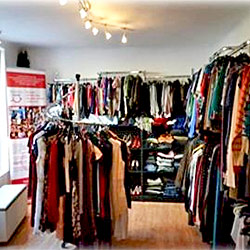 Retail store run by a Romanian ministry to generate funds for local projects