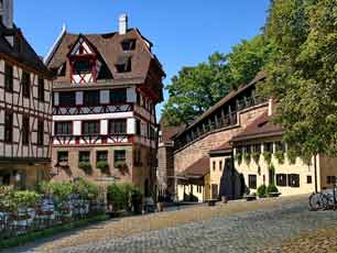 Germany Nuremberg Near Albrecht Durer House