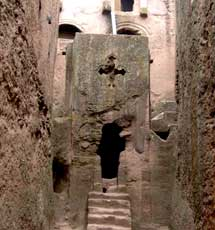 Ethiopia – Lalibela Church Entrance