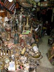 Jerusalem, Israel - Market Lamp Stall