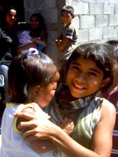 Nicaraguan Girl and Baby