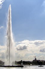 Geneva, Switzerland - Water Spout