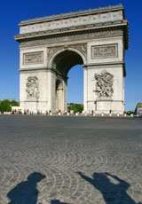 France_Paris_Arc-de-Trumph_day