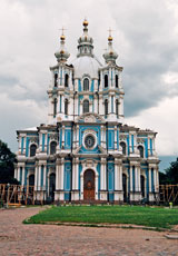 St. Petersburg, Russia - Smolny Cathedral